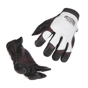 Full Leather Steel Worker Gloves K2977- (available in M,-L,-XL) *Size must be indicated*