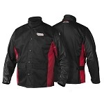 Grain Leather Sleeved Welding Jacket K2987- (avail. in -M,-L,-XL,-XXL,-XXXL)  *Size must be indicated*